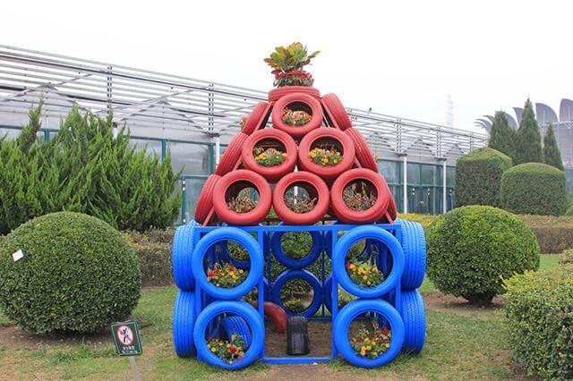 Tire Fun House