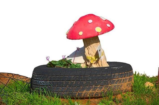 Mushroom Tire