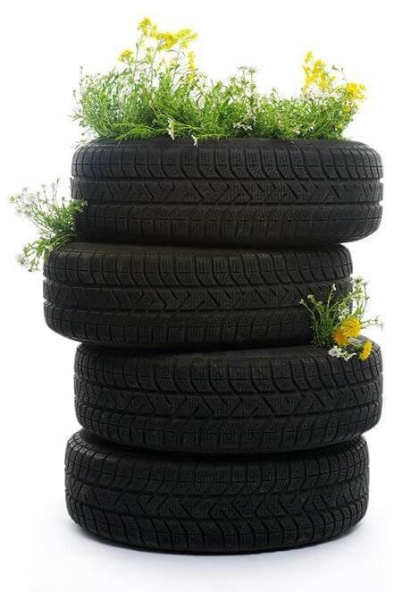 Topsy-Turvy Tire