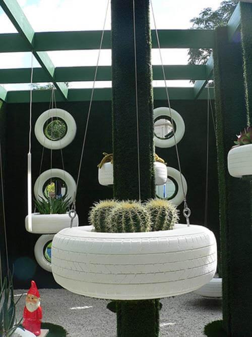 Hanging Tire