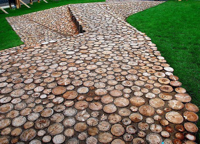 Tree Stump Pathway