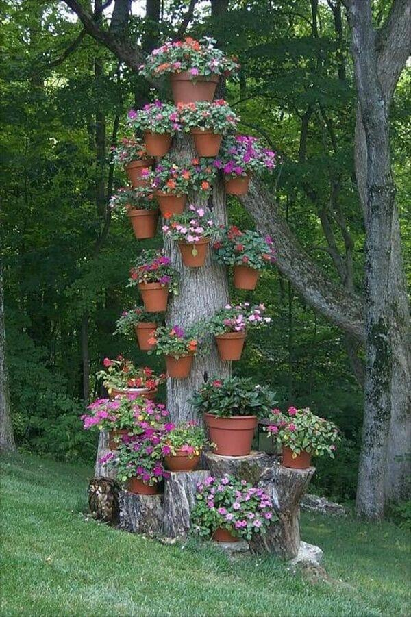Turn it into a Quirky Vertical Pot Stand