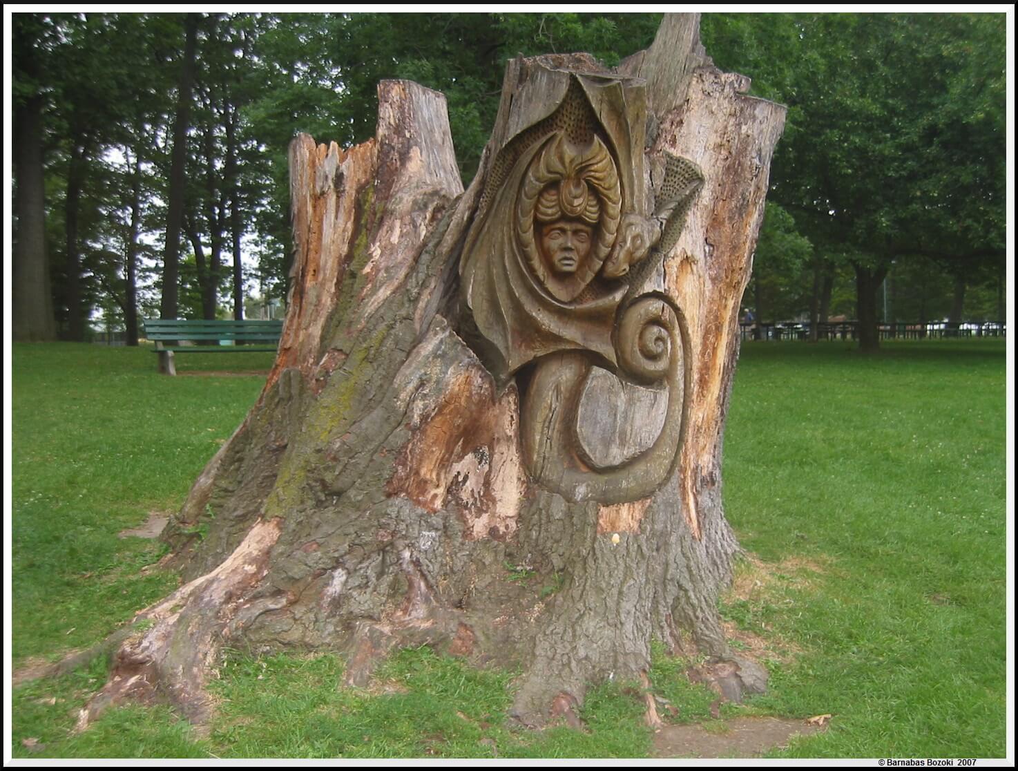 Carved Tree Stump