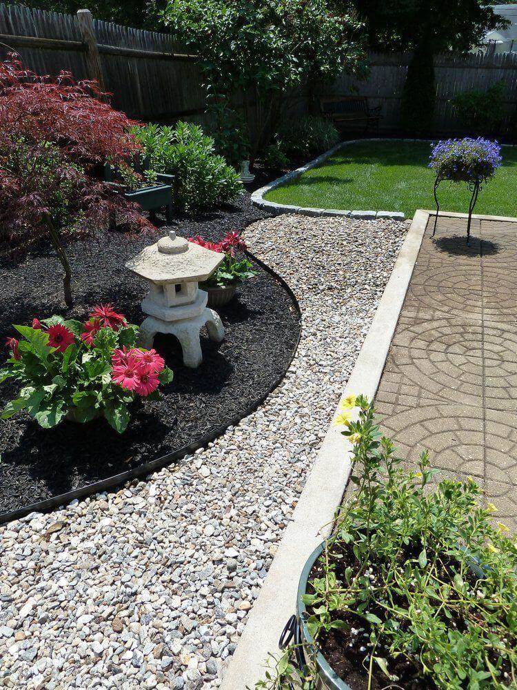 Garden Oasis with Rocks