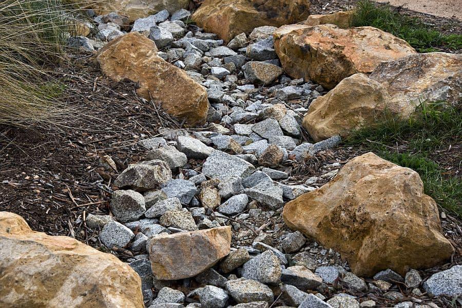 Grey Pebble Walk