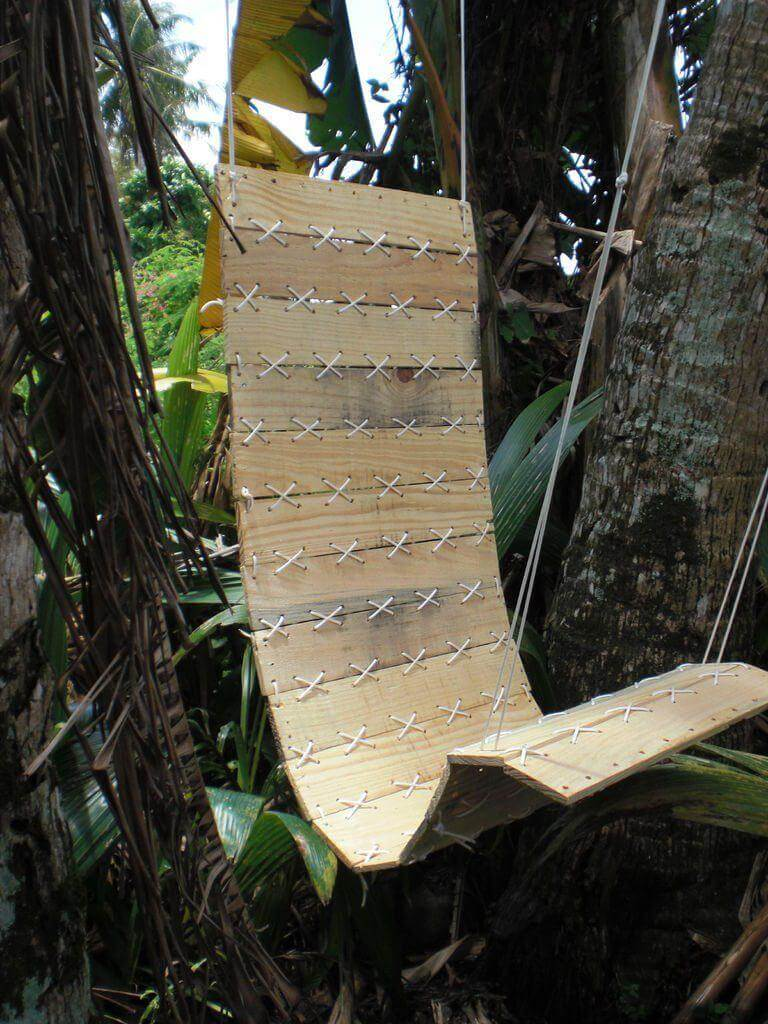 A Military Style Chair Swing