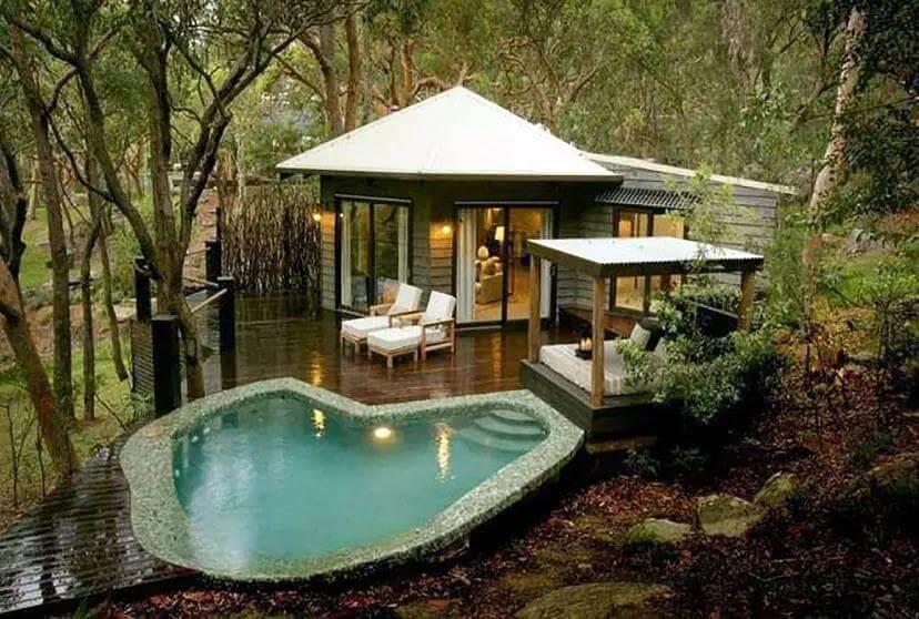 Cabana for Big Backyard