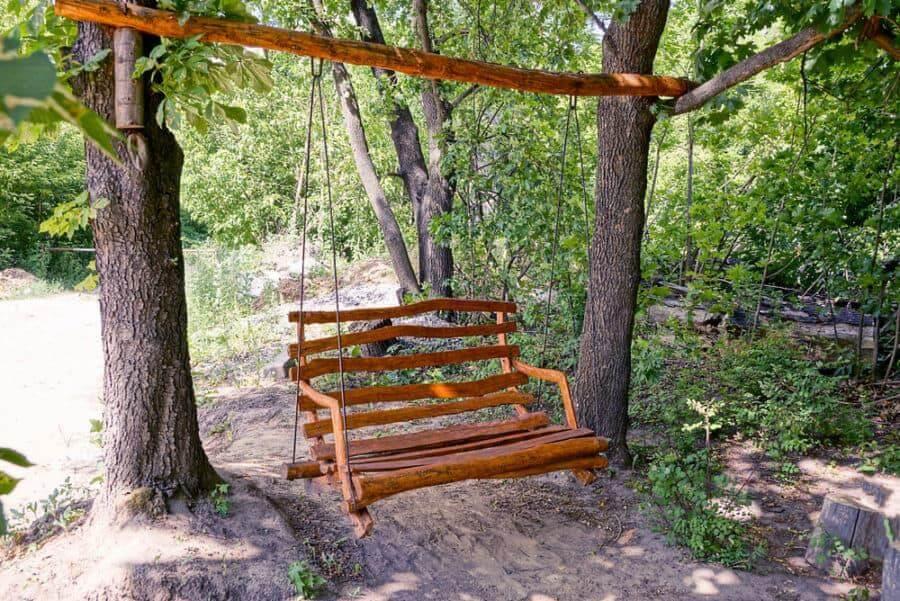 Hanging Rattan wicker chair