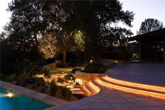 Outdoor Steps Rope Light