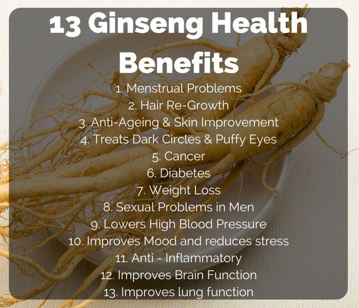 Health Benefits of Ginseng