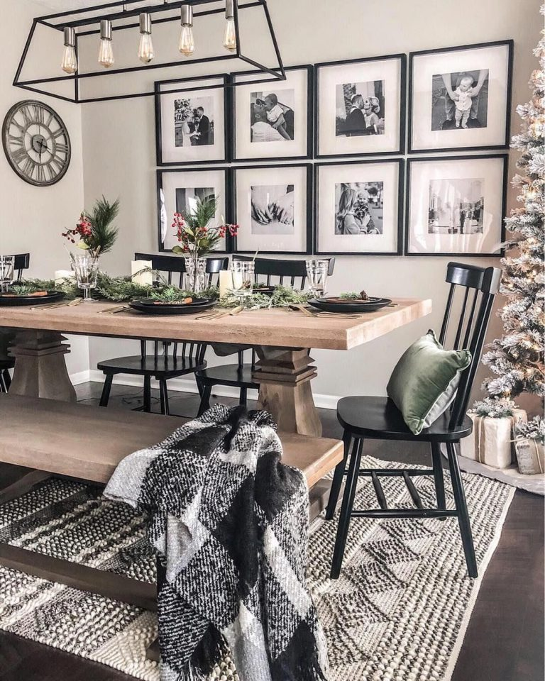 25 Wall Décor Ideas for your Dining Room