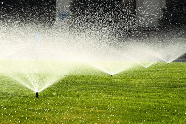 a Lawn Irrigation