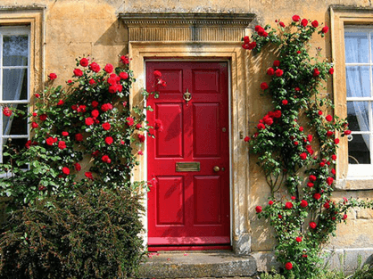 decorating the house exterior from Pinterest
