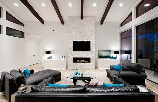 A Contemporary Black and White Theme