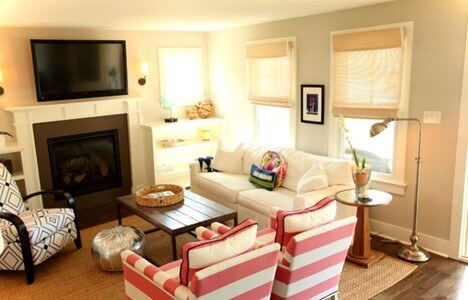 A Cute and Cozy Living Room