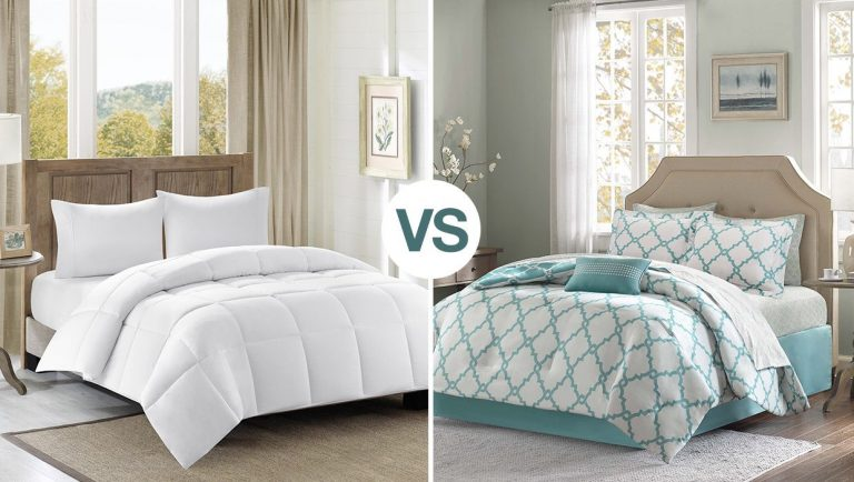 Difference Between A Comforter and a Blanket