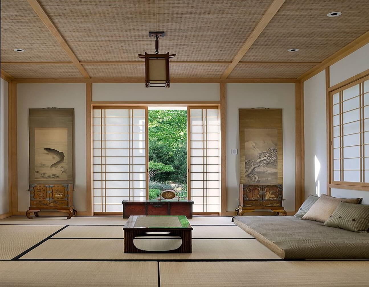 Japanese Meditation Room