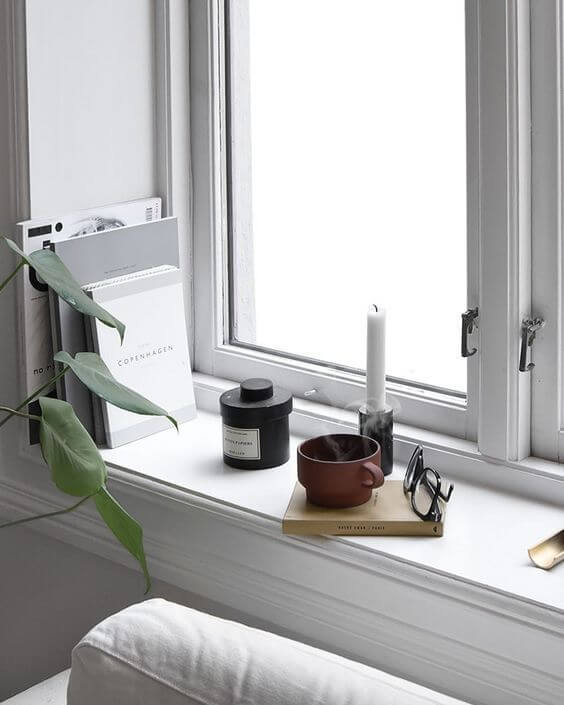 Nordic Style Windowsill
