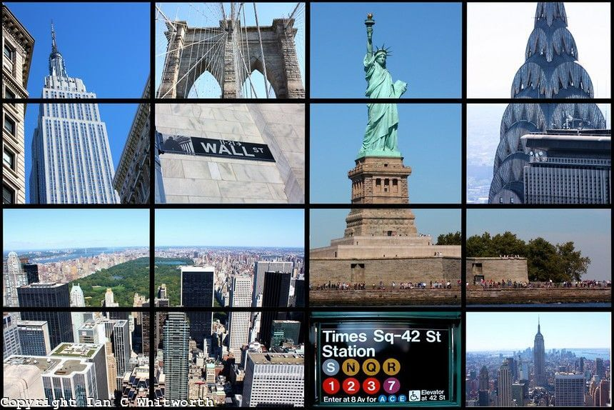 Picture Gallery of Famous Places In New York