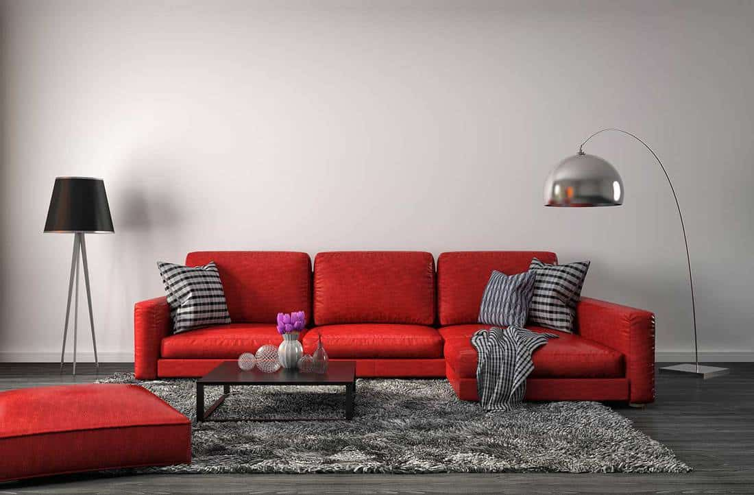 What Goes with A Red Couch (14+ ideas)?