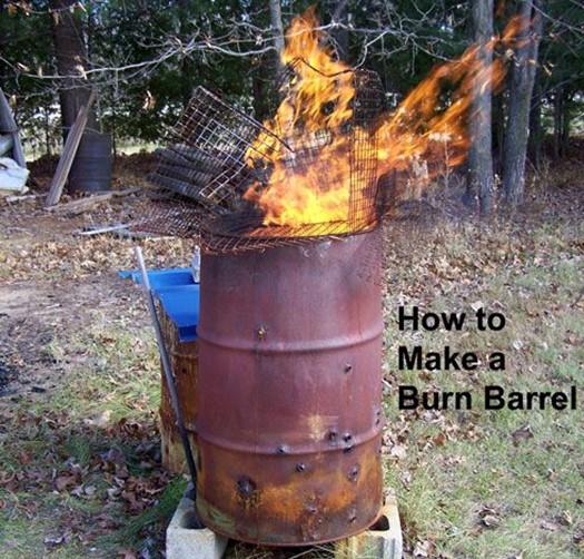 Your Hand Made Smokeless Burn Barrel