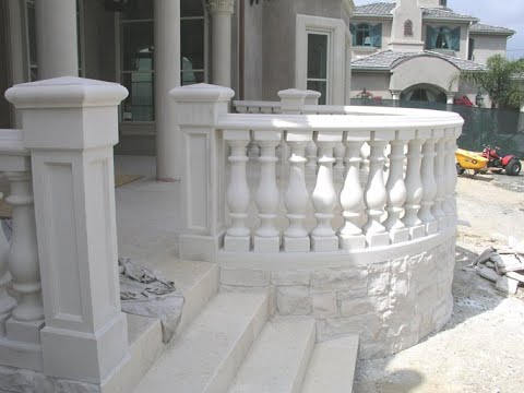 Concrete Railings