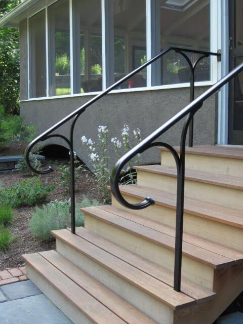 More Simple Metal Railings