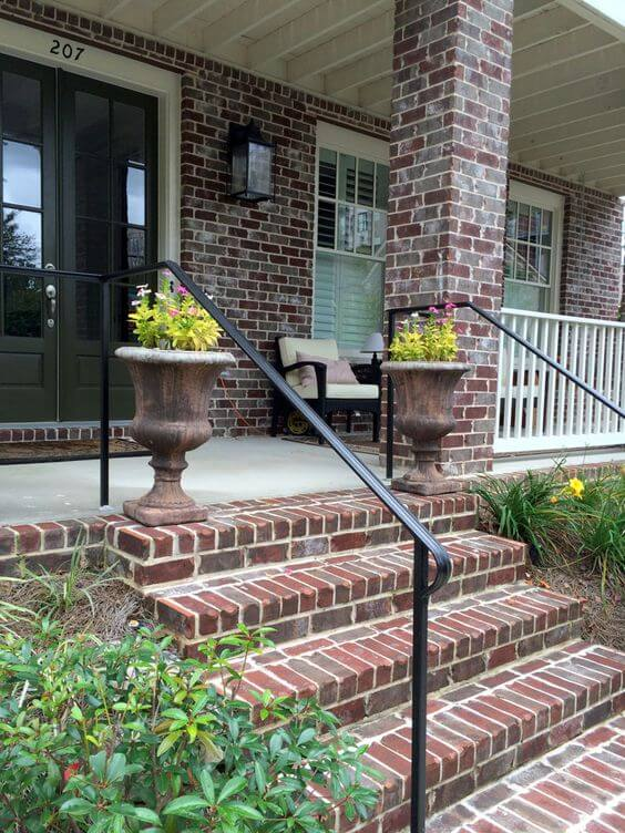 Simple Metal Railings