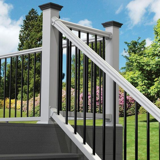 Traditional Metal Railings