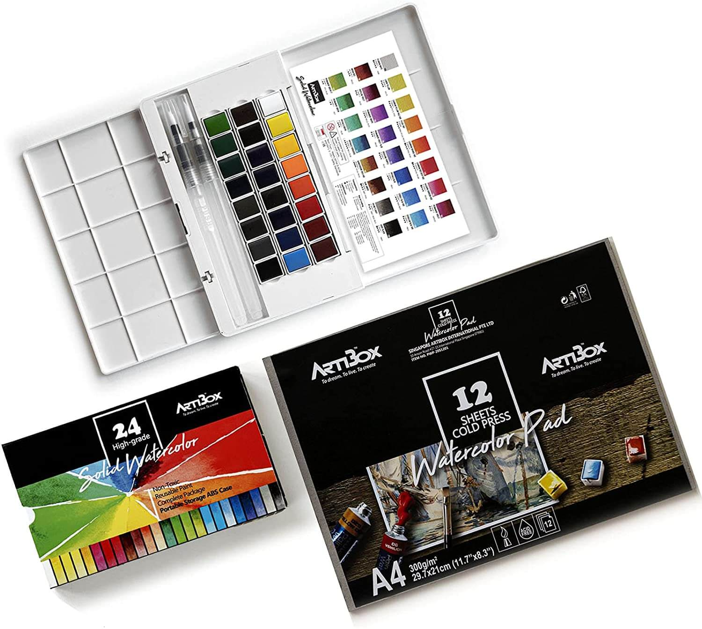 Artibox Watercolor Paint Set