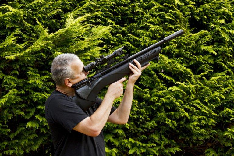 Can You Shoot Air Guns in Your Yard or Garden?