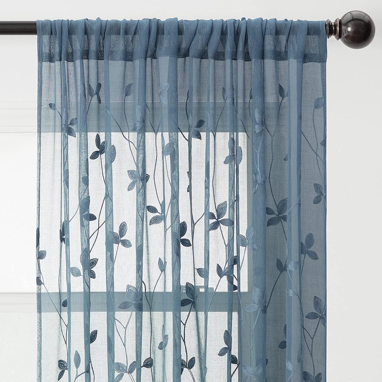Chanasya Floral Curtains