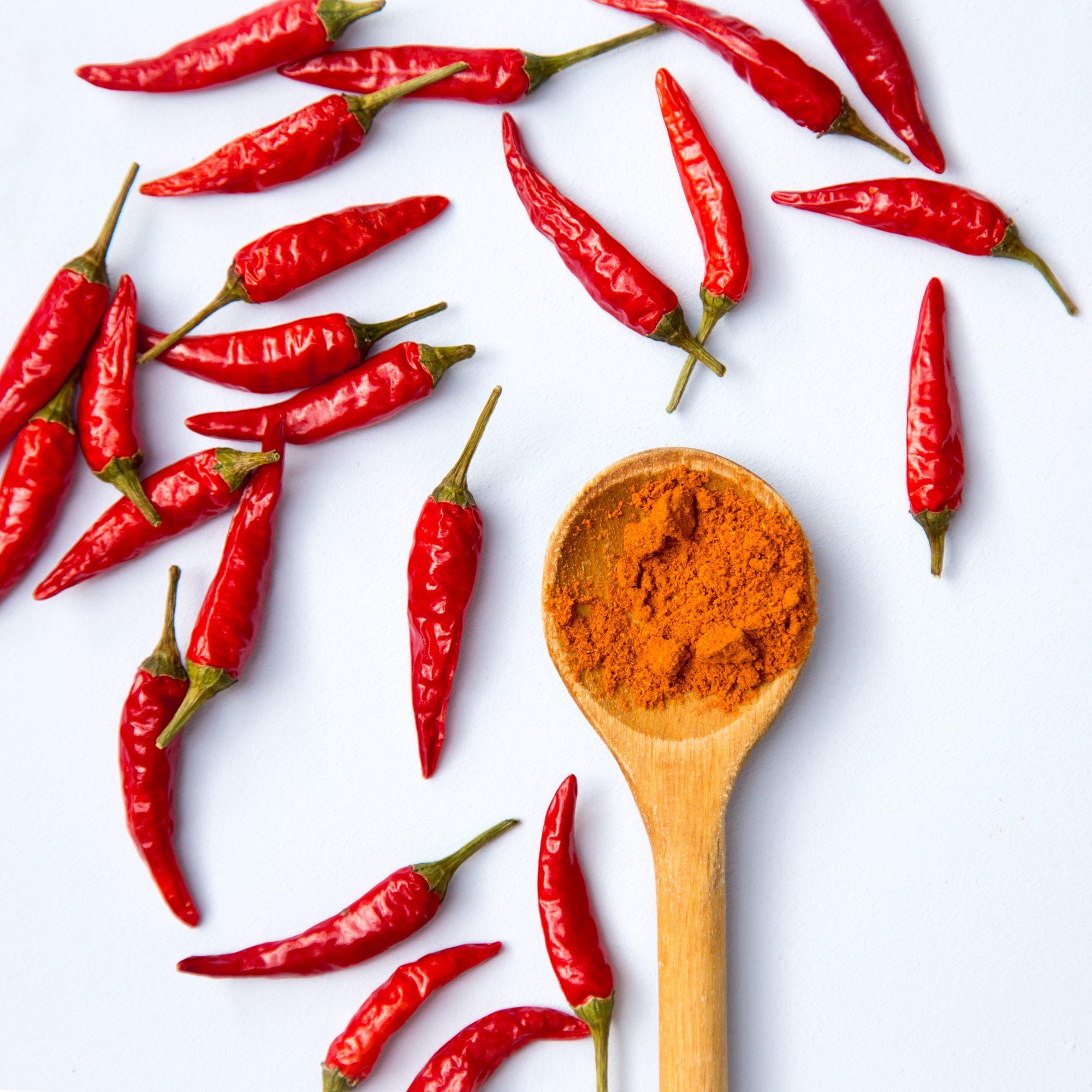 Chili or Cayenne Pepper