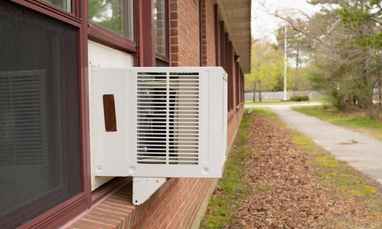 Cleaning a Window Air Conditioner Without Removing it