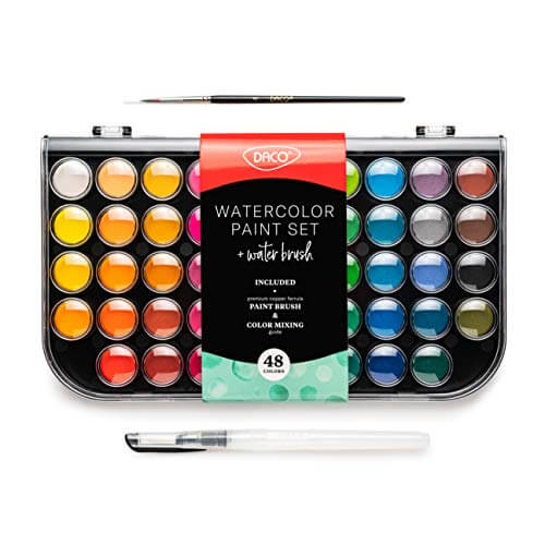 Daco Watercolor Paint Set