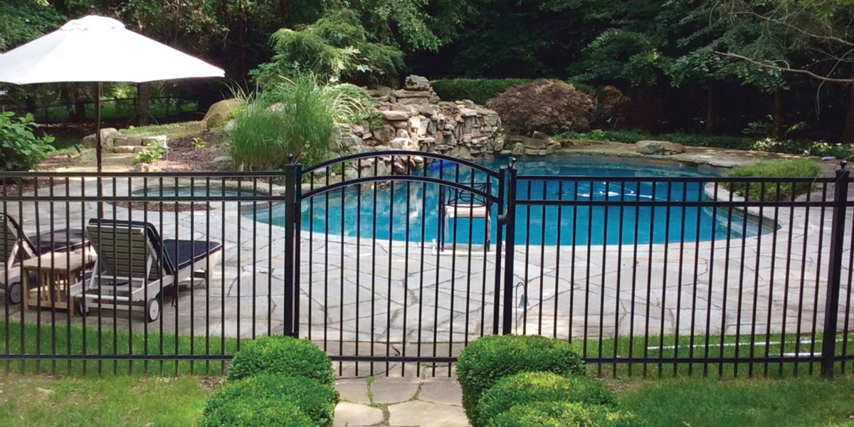 Fencing Around Pool Area
