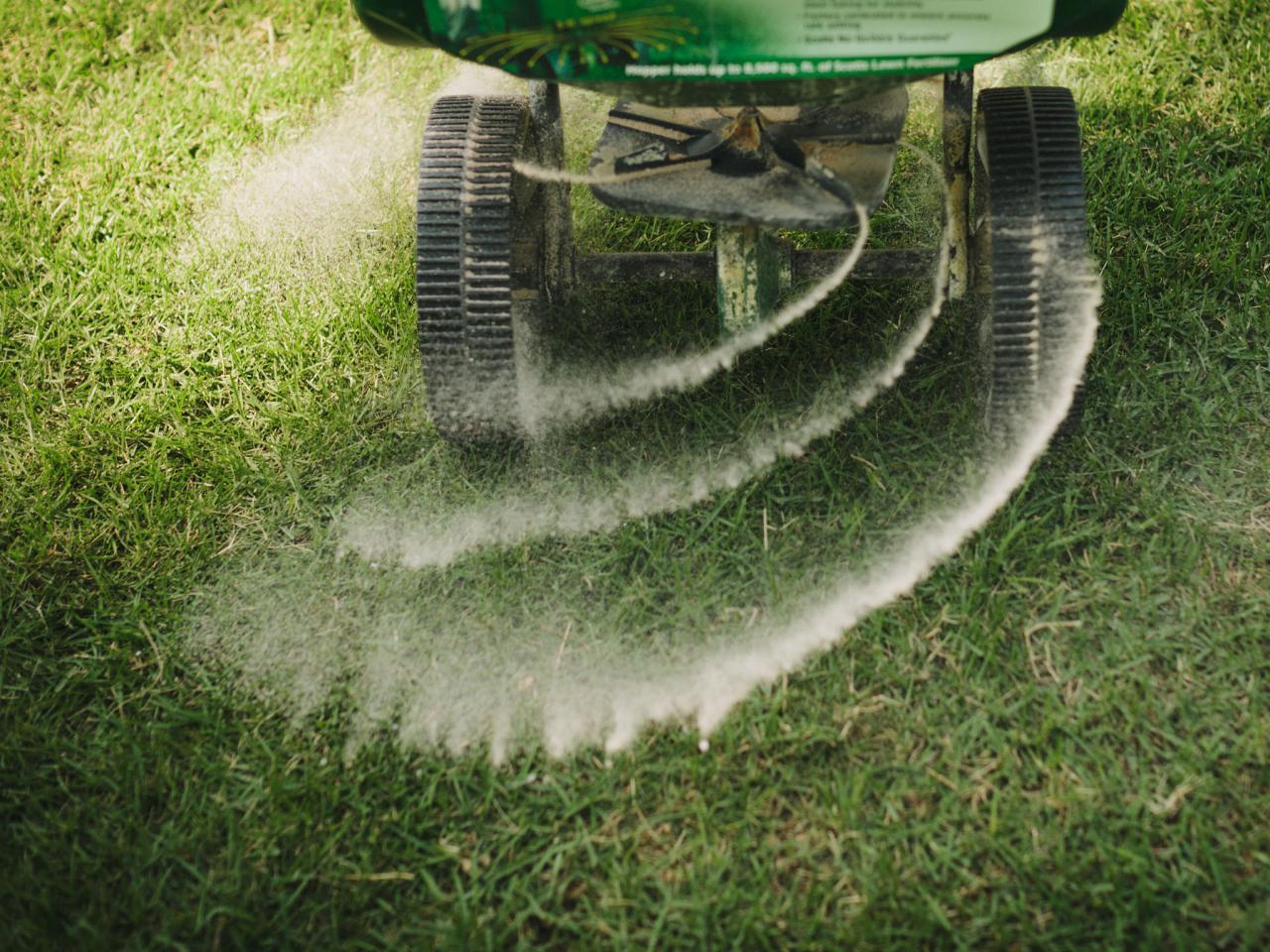 Fertilize the Grass