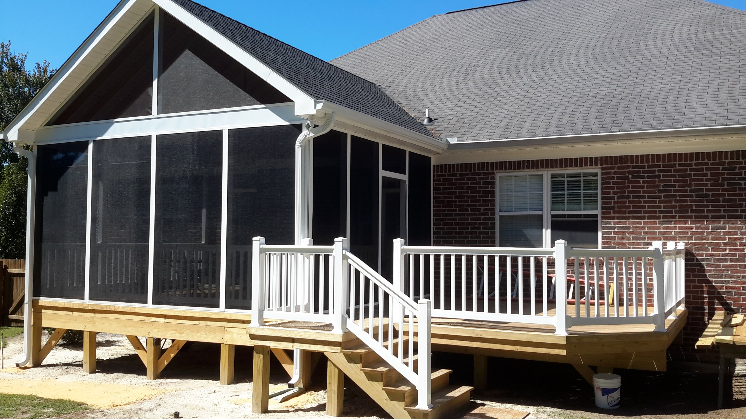 How to Convert a Deck to a Screened Porch