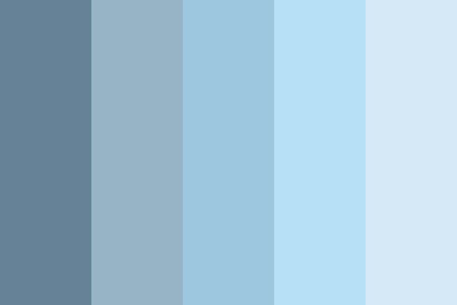How to Make Muted Blue Colors