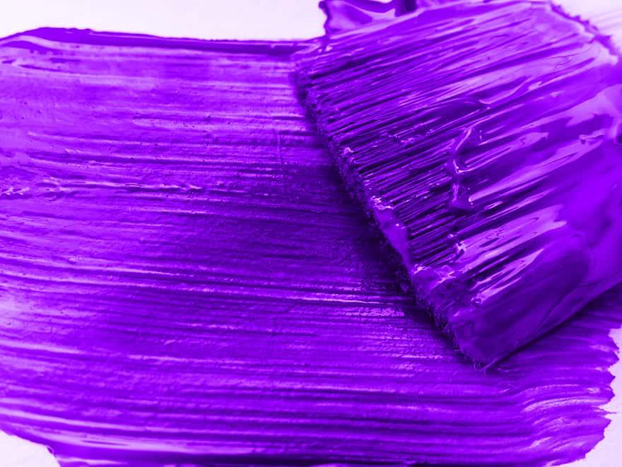 How to Obtain Warm Purple Color