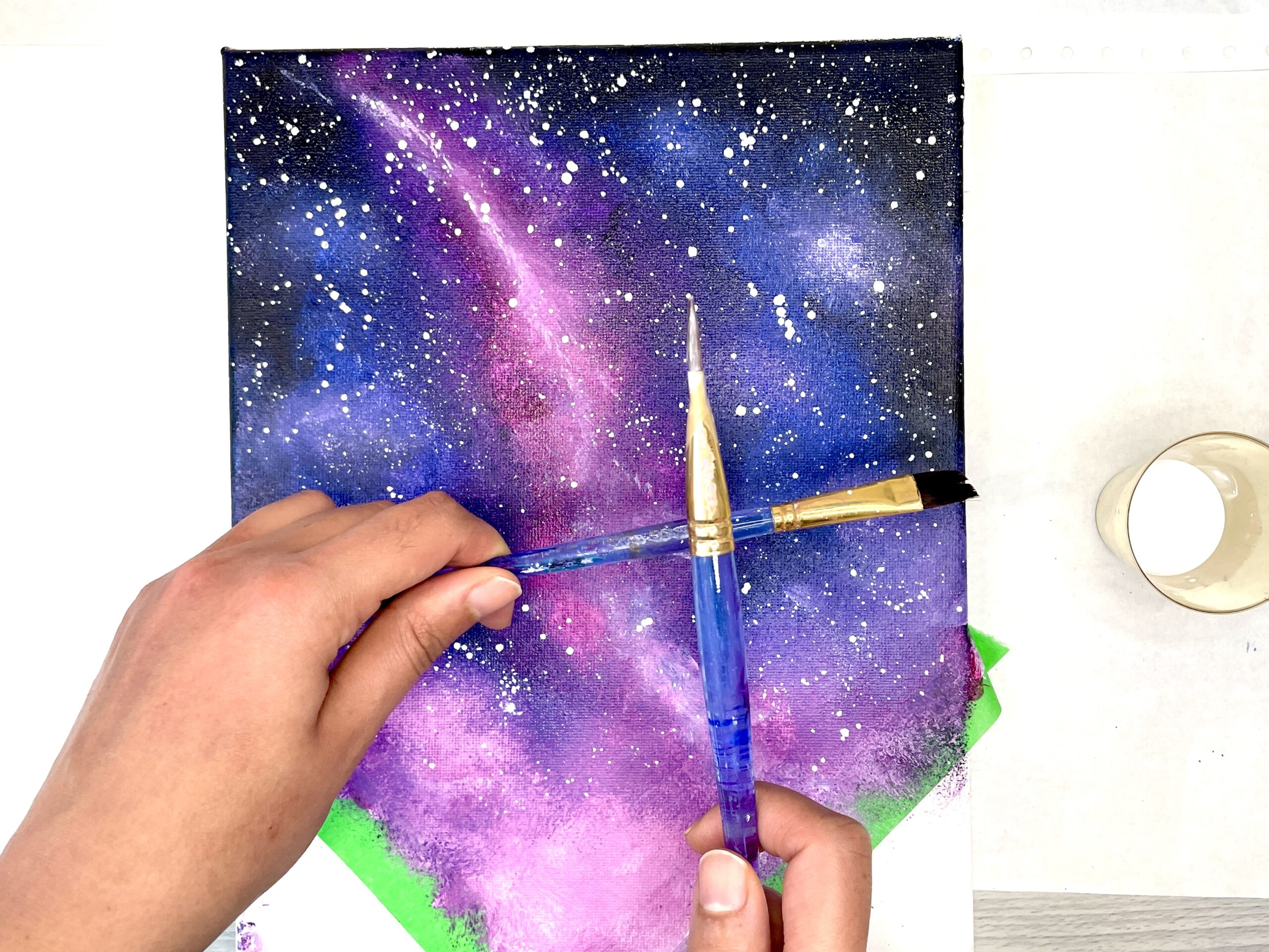 How to Paint a Night Sky Tips & Night Sky Painting Tutorial