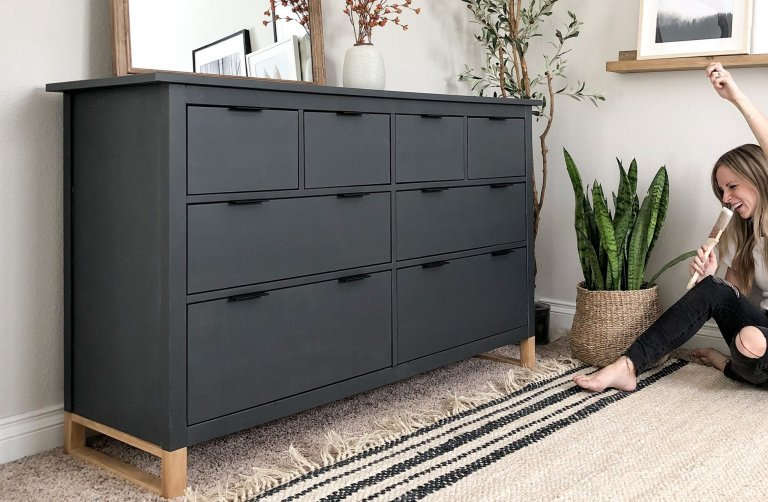 Ikea Hack How to Update Your Furniture with Chalk Paint