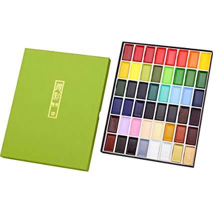 Kuretake Gansai Portable Watercolor Set