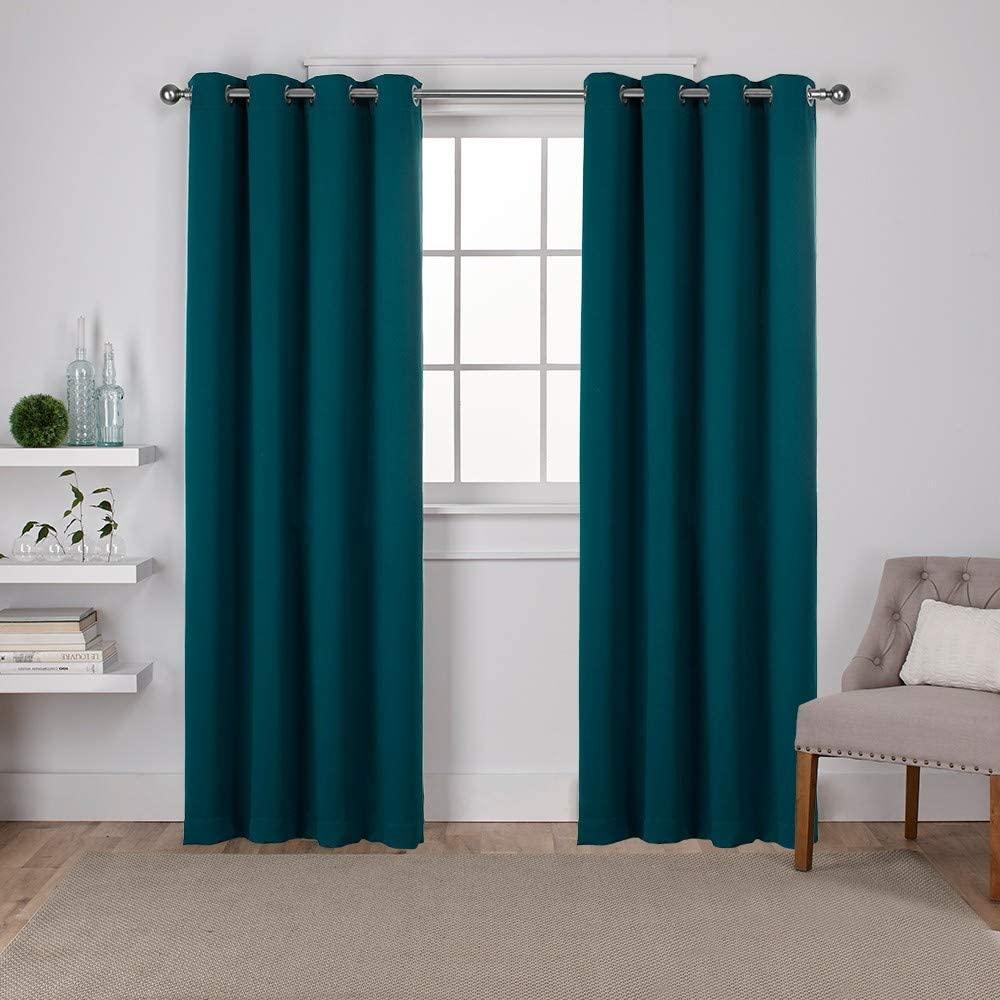 Sateen Twill Woven Blackout Curtain