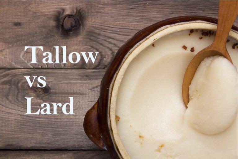 Tallow vs. Lard (and a Bit of Suet