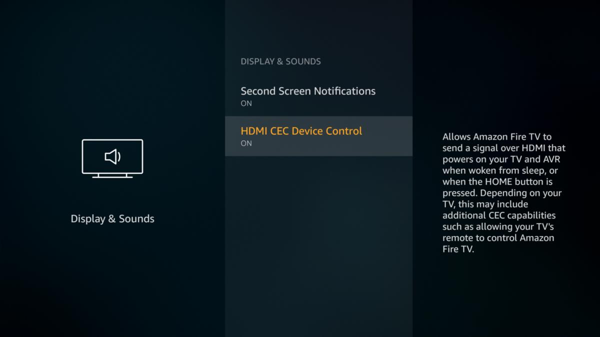 TAry Disabling HDMI CEC Option