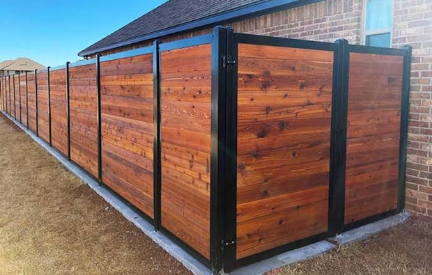 When You Want to Build A Wood Fence with More Privacy