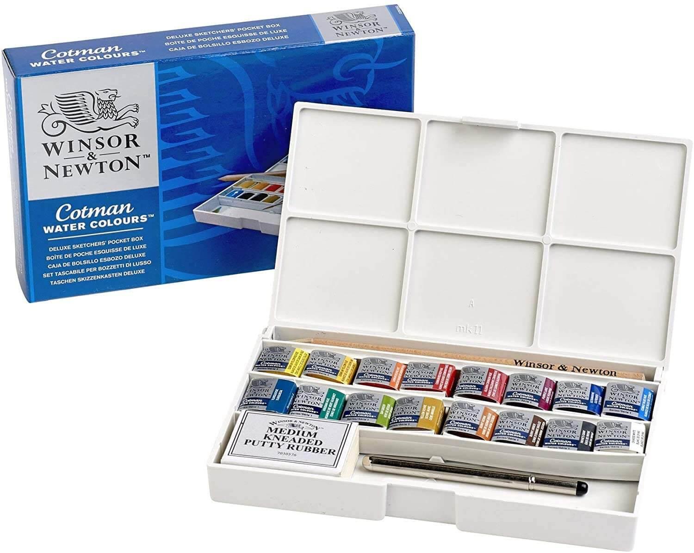 Winser And Newton Cotman Watercolor Paint Skechers