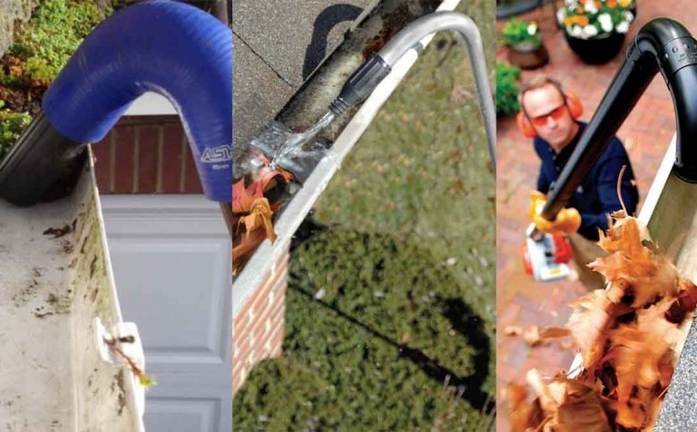 6 Smart Ways to Clean Gutters (From Ground)