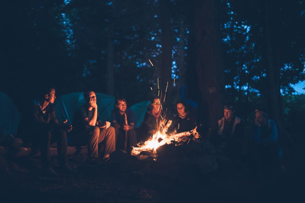 Camping with Friends
